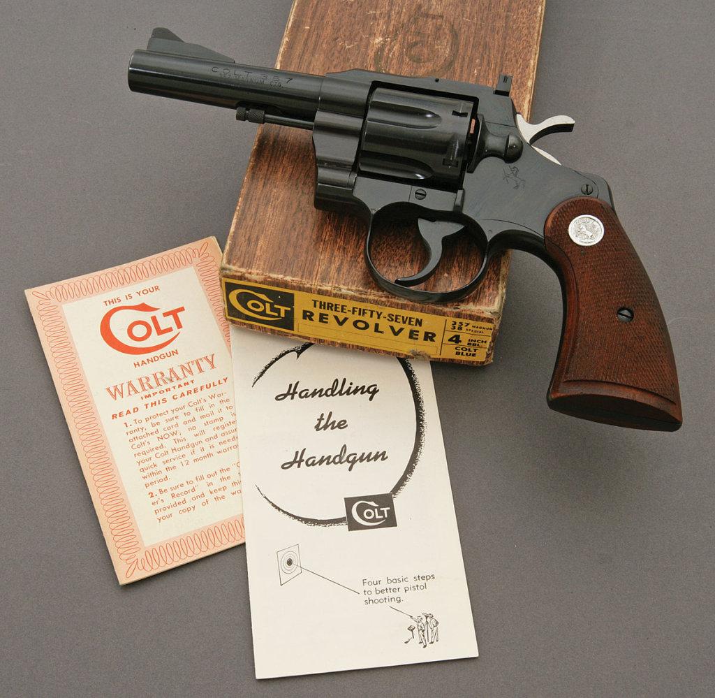 Colt 357 Double Action Revolver