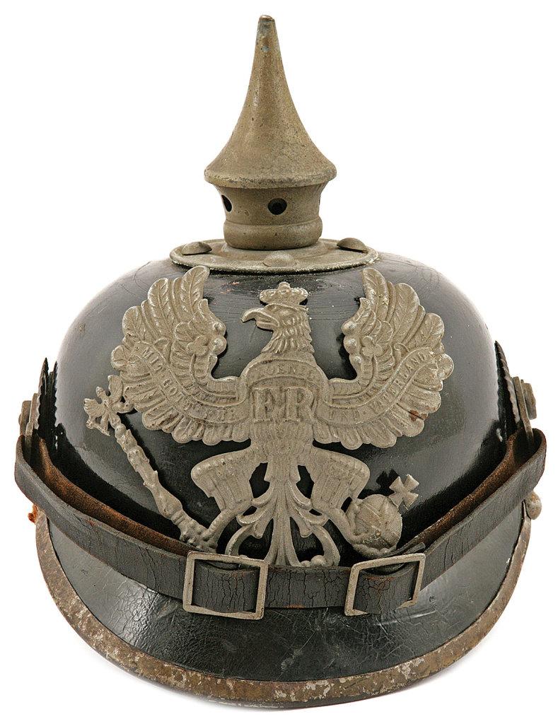 Prussian Pioneer Battalion Pickelhaube Helmet