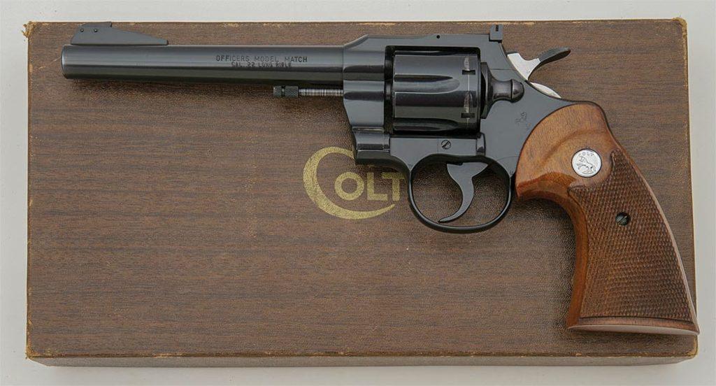 Colt Officers Model Match Revolver