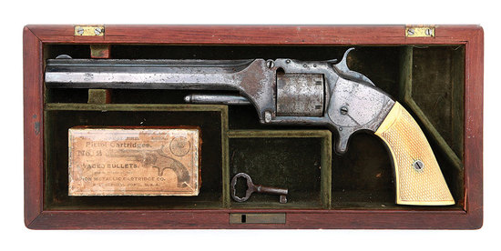 Fine Cased Special Order Smith & Wesson No. 2 Old Army Revolver