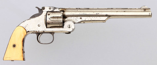 Smith & Wesson First Model Russian Commercial Revolver