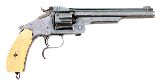 Smith & Wesson No. 3 Second Model Russian Japanese Navy Contract Revolver