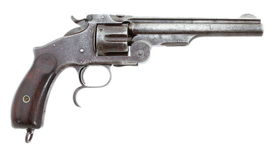Rare Smith & Wesson No. 3 Third Model Russian Revolver