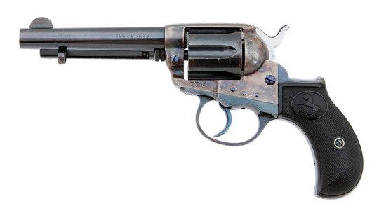 Lovely Colt Model 1877 Lightning Double Action Revolver