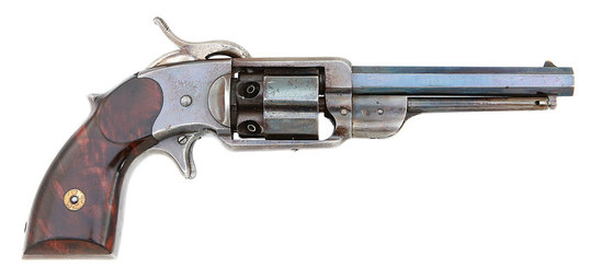 Lovely C. R. Alsop Navy Model Percussion Revolver