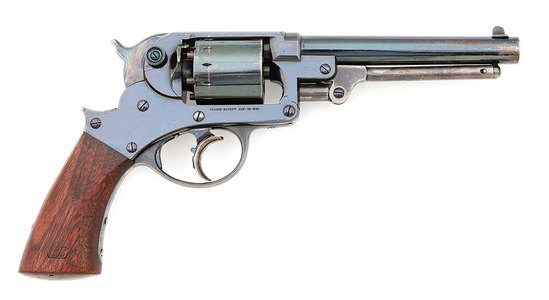 Superb Starr Arms Co. Model 1858 Army Double Action Percussion Revolver