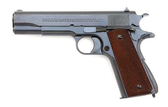 Pre-War Colt Government Model Semi-Auto Pistol