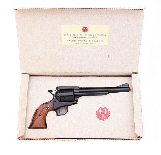 "Rare Ruger Old Model ""White Box"" Super Blackhawk Revolver"