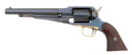 Superb Remington New Model Army Percussion Revolver