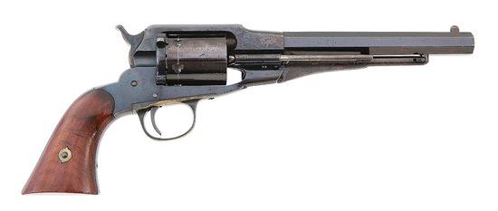 Lovely Remington New Model Navy Metallic Cartridge Converted Revolver