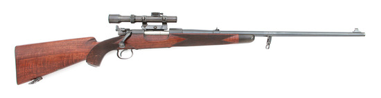 Custom Griffin & Howe Winchester Model 54 Bolt Action Rifle
