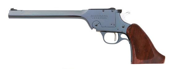 Harrington & Richardson Model 195 U.S.R.A. Single Shot Target Pistol