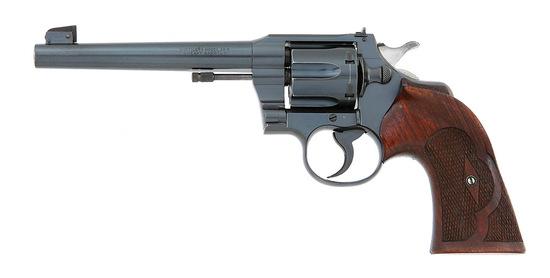 Colt Officers Model Target Revolver