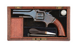 Cased British Smith & Wesson Style Pocket Revolver with Holland Retailer Markings