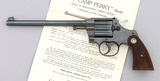 Colt Camp Perry Single Shot Pistol