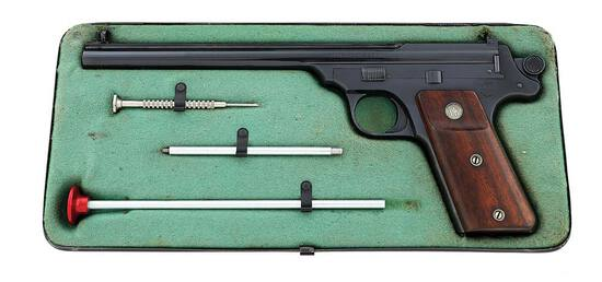 Smith & Wesson Fourth Model Single Shot Straight Line Target Pistol