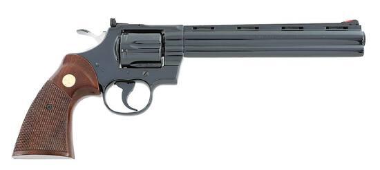 Rare Colt Python Double Action Revolver