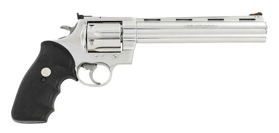 Scarce Colt Anaconda Double Action Revolver Ultimate Bright Stainless