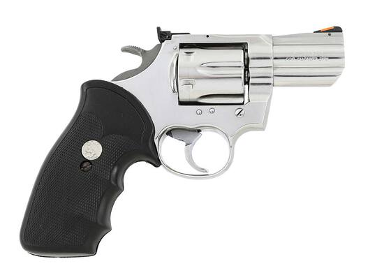 Rare Colt King Cobra Double Action Revolver Ultimate Bright Stainless