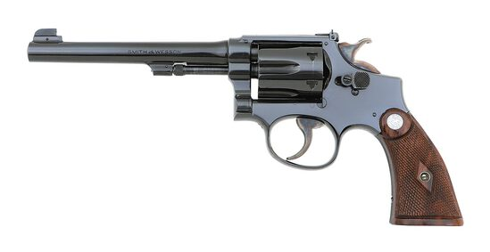 Smith & Wesson K-22 Outdoorsman Hand Ejector Revolver