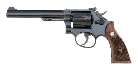 Smith & Wesson K-22 Masterpiece Hand Ejector Revolver