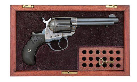 Cased Colt Lightning Model 1877 Double-Action Revolver