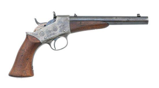 Remington Model 1887 Army Frame Rolling Block Target Pistol