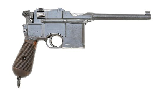 German C96 Conehammer Semi-Auto Pistol by Mauser Oberndorf