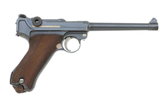 German 1914 Variation Navy Luger Pistol by DWM