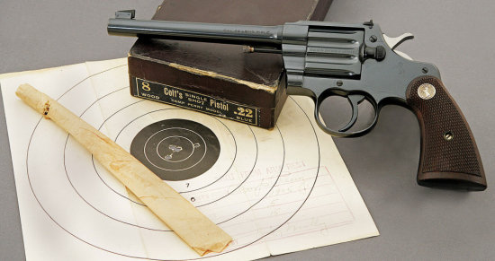 Colt Camp Perry Model Pistol