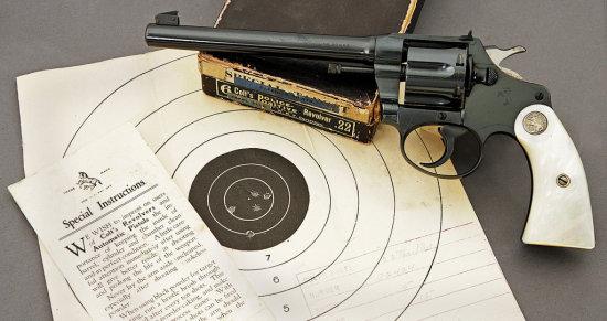 Colt Police Positive Target Model Revolver