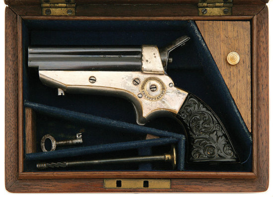 Tipping & Lawden Cased Model 1A Pepperbox