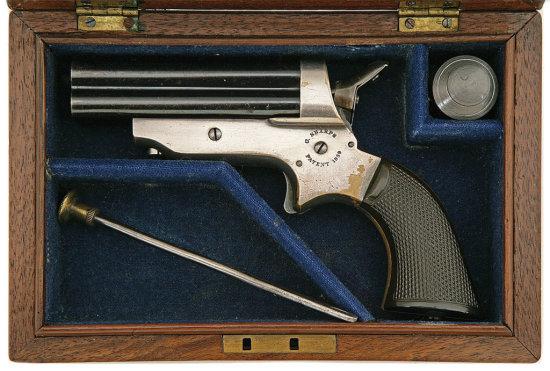 Sharps Model 2A Cased Pepperbox