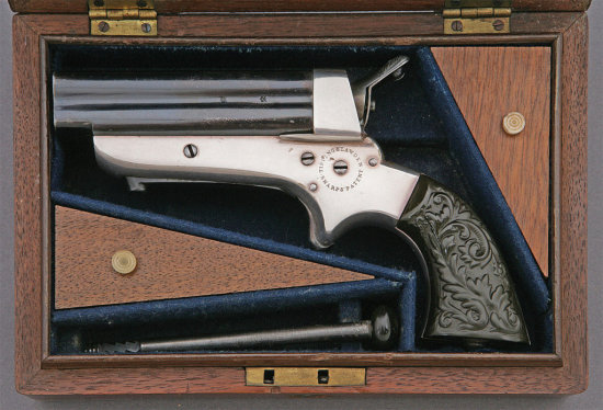 Tipping & Lawden Cased Model 2B Pepperbox
