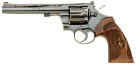 Colt Officer'S Model Revolver With King Super Target Conversion