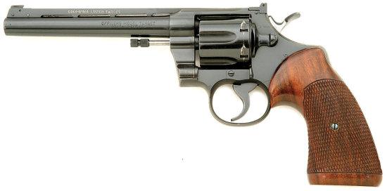 Colt Officer'S Model Target King Converted Revolver