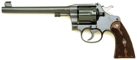 Colt New Service Target Revolver