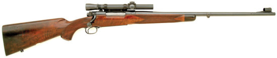Lovely Griffin & Howe Pre '64 Winchester Model 70 Rifle