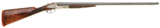 Exceptional L. C. Smith Grade 5 Sidelock Double Ejectorgun