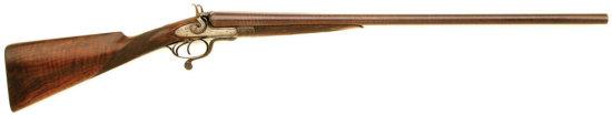 New York Underlever Double Hammergun By Patrick Mullin