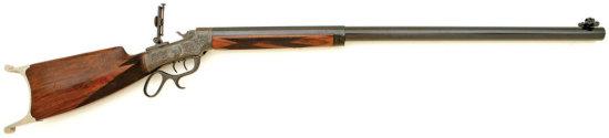 Superb Marlin Ballard No. 6 Schuetzen Rifle