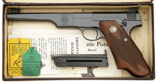 Colt Woodsman Match Target Semi-Auto Pistol