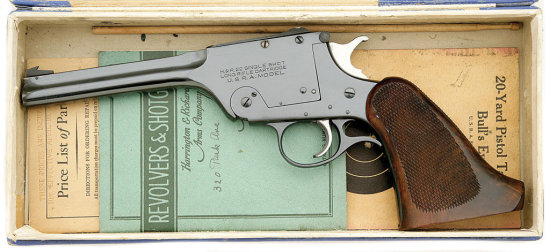 Harrington & Richardson U.S.R.A. Model 195 Single Shot Target Pistol