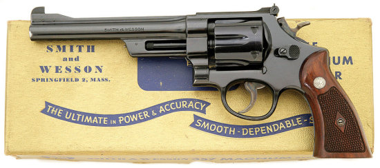 Smith & Wesson Post War Pre-Model 27 357 Magnum Hand Ejector Revolver