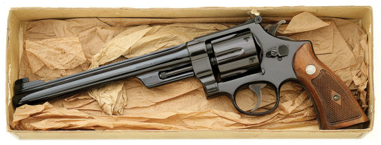 Smith & Wesson Post War Transitional 357 Magnum Hand Ejector Revolver