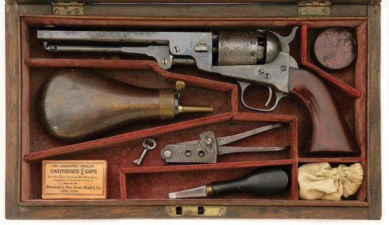 Cased Manhattan Series Iv Navy Type Revolver
