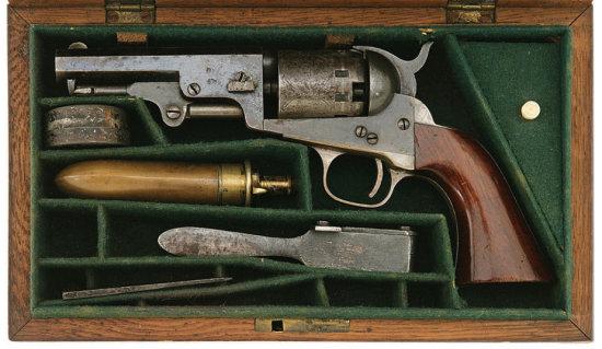 Cased Manhattan Series I Navy Type Revolver