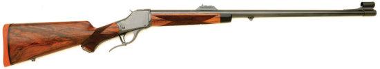 Fine Custom Winchester Model 1885 High Wall Rifle