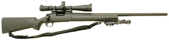 Custom Remington Model 700P Bolt Action Sniper Rifle By Iron Brigade Armory