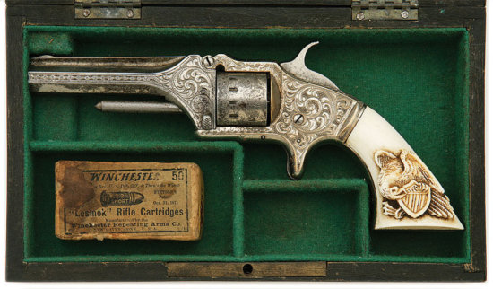 Presentation Quality American Standard Tool Company 22 Caliber Pocket Revolver